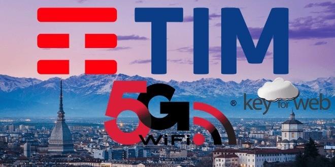 TIM illumina Torino con la prima antenna 5G: connessioni record da 20 Gigabit/s