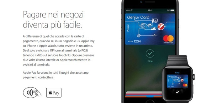 UFFICIALE: Apple Pay presto in Italia