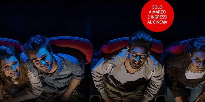 Vodafone Exclusive vi porta al cinema gratis questo mese