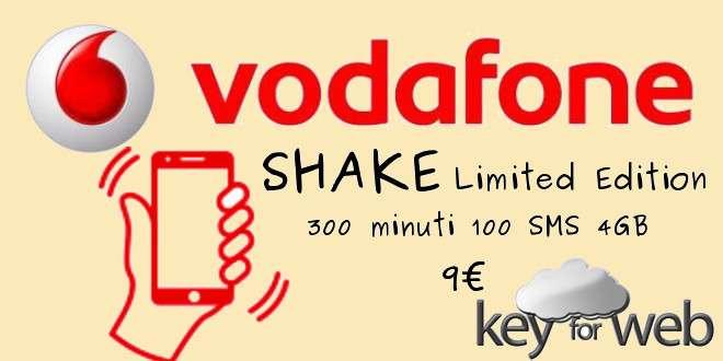Vodafone Shake Limited Edition disponibile fino al 14 marzo 2017
