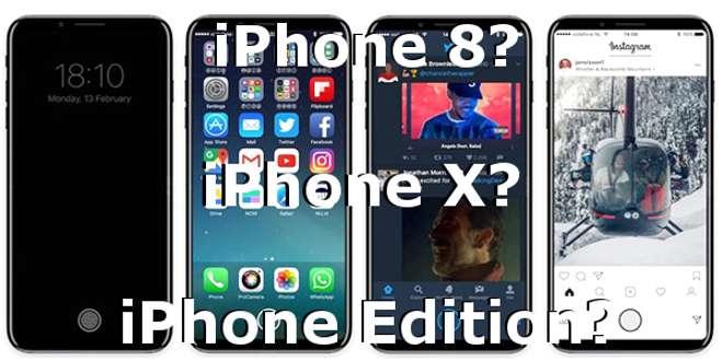 iPhone 8 è troppo banale, iPhone Edition è il vero nome del nuovo top gamma