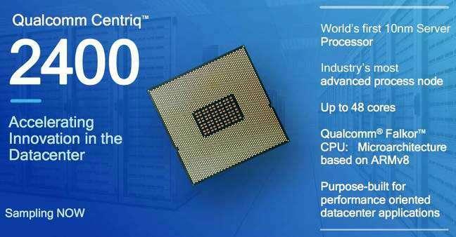 Qualcomm e Microsoft insieme nei servizi cloud sulla piattaforma Qualcomm Centriq 2400 a 10nm