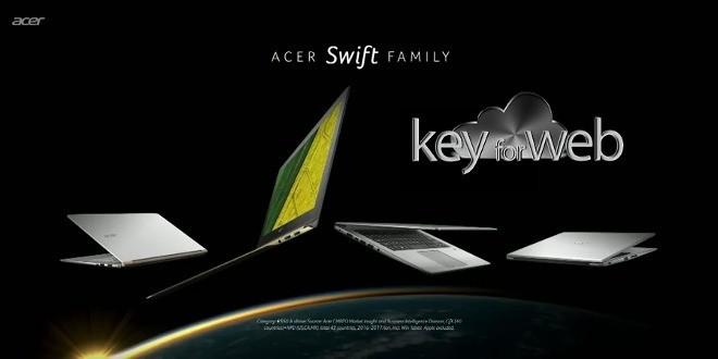 Acer Swift 3 e Swift 1, notebook di qualità a prezzo contenuto