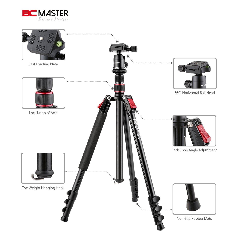 Recensione cavalletto BC Master TA333, qualità, stabilità ed un prezzo contenuto