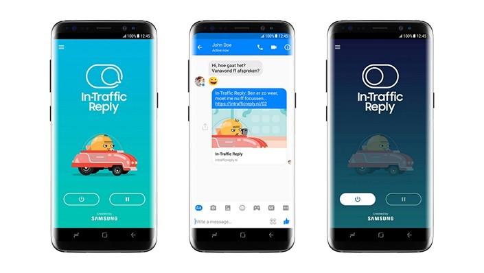 In-Traffic Reply: la nuova app di Samsung che evita distrazioni alla guida