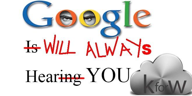 Incredibile: la ricerca vocale di Google registra e conserva anche le conversazioni private, ma cancellarle si può!