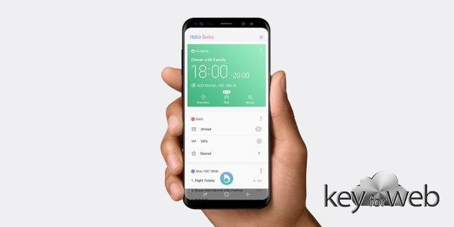 Un'applicazione permette di rimappare il pulsante Bixby di Galaxy S8 per Google Assistant