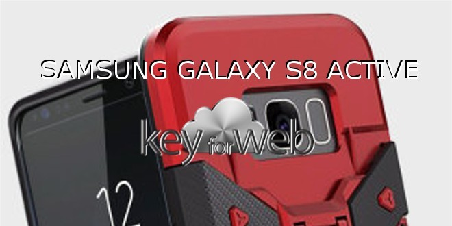 Samsung Galaxy S8 Active si mostra con la sua robusta scocca