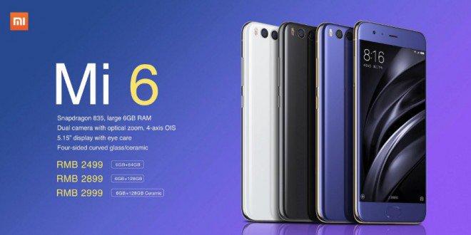 Xiaomi Mi 6 ufficiale: splendido e pronto a far tremare Samsung, LG e non solo