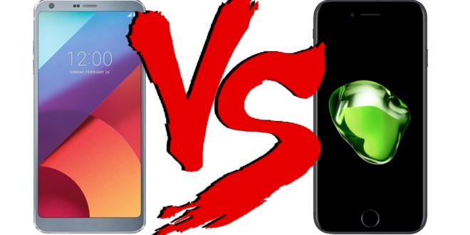 Migliori smartphone – LG G6 vs iPhone 7 Plus: confronto con foto!