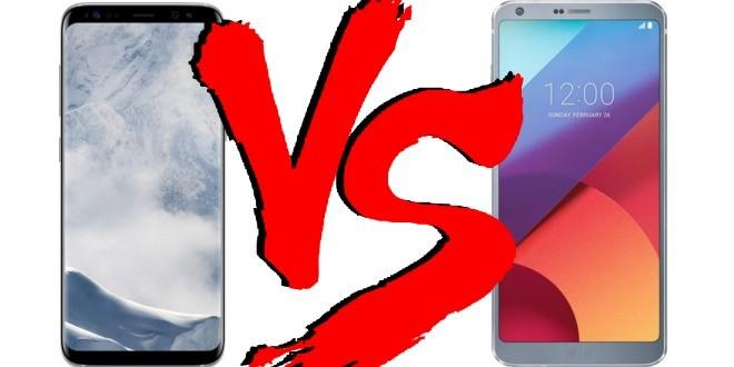 Migliori smartphone – Samsung Galaxy S8 vs LG G6: confronto con foto!