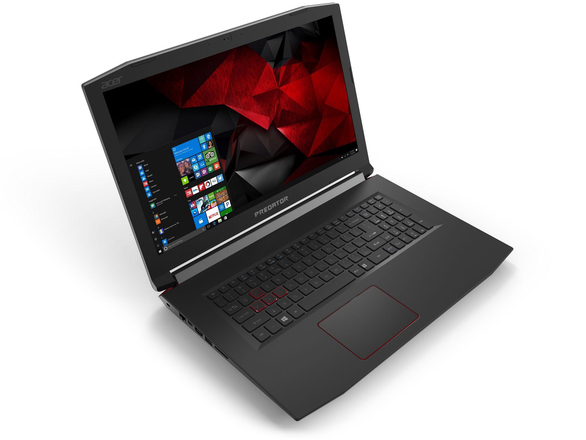 Acer Predator, la nuova linea di notebook e monitor dedicata ai gamer