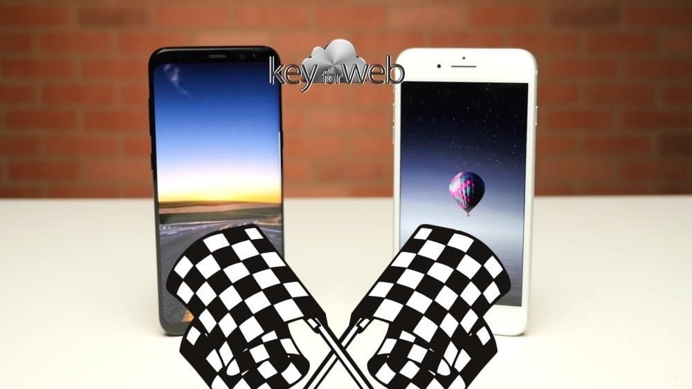 Samsung Galaxy S8+ vs iPhone 7 Plus