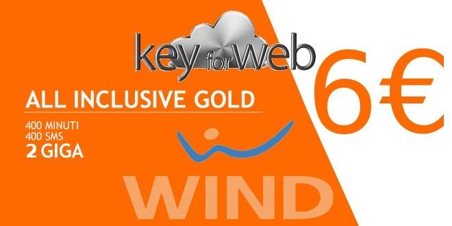 Torna All Inclusive Limited Edition Gold: imperdibile offerta per i già clienti Wind