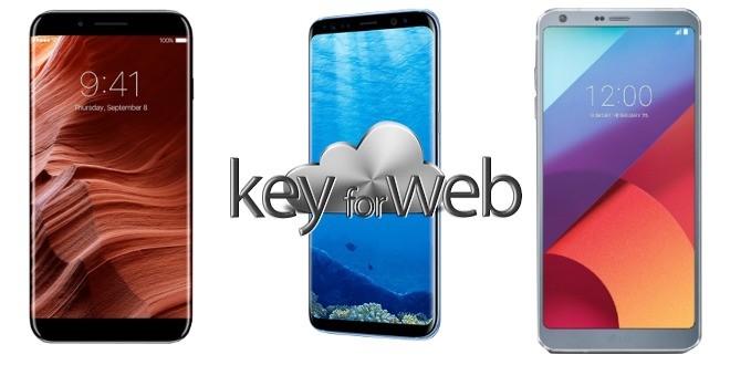 Apple con iPhone 8, Samsung con Galaxy S8 o LG con LG G6? Quale sarà lo smartphone simbolo di questo 2017