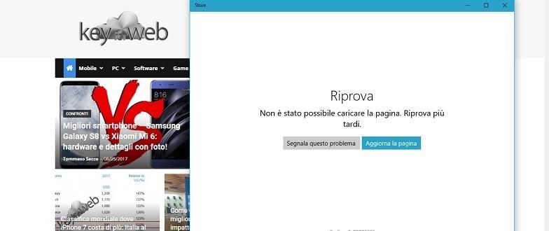 Windows Store offline: segnalati blocchi a livello europeo | Agg. Servizio ripristinato