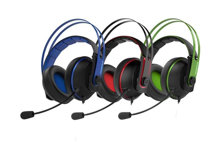 Asus presenta le nuove cuffie gaming Cerberus V2, eccellente qualità dell'audio