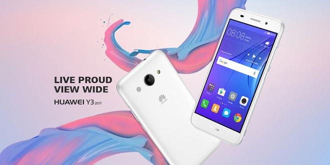 Huawei Y3 2017, il nuovo smartphone low-cost Huawei disponible ufficialmente