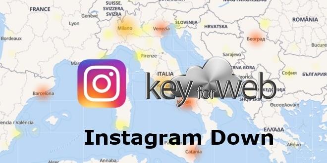 Problemi Instagram, servizio Down 16 maggio, problemi di ogni genere a migliaia di utenti