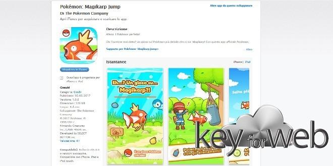 Magikarp Jump, il gioco sul Pokémon più debole che ci sia disponibile su iOS e Android