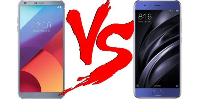 Migliori smartphone – LG G6 vs Xiaomi Mi 6: hardware e dettagli con foto!