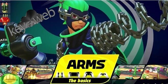 Nuovi dettagli su ARMS per Nintendo Switch