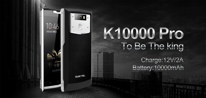 Primo unboxing per OUKITEL K10000 Pro e vendita flash a 170$