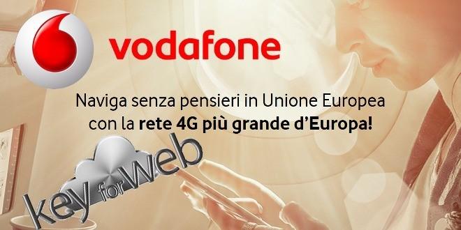 Roaming in Europa, Vodafone annuncia la data ufficiale