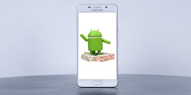 Arriva l'aggiornamento Galaxy A5 2016 con Android Nougat in Europa