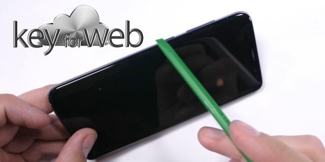 Samsung Galaxy S8: molto fragile, ma le riparazioni non sono troppo costose