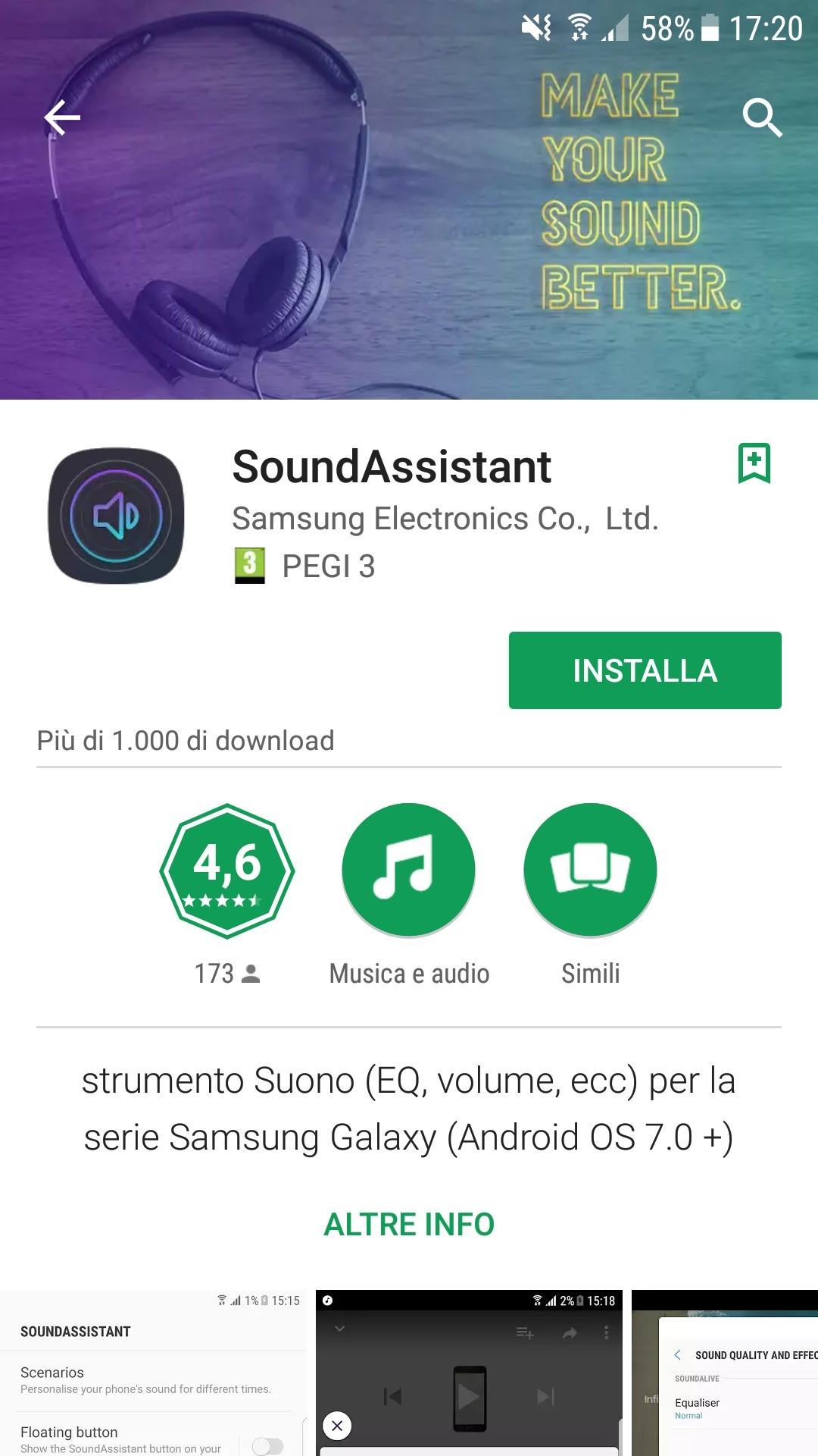 L'applicazione SoundAssistant di Samsung è un potente strumento audio per i dispositivi Galaxy