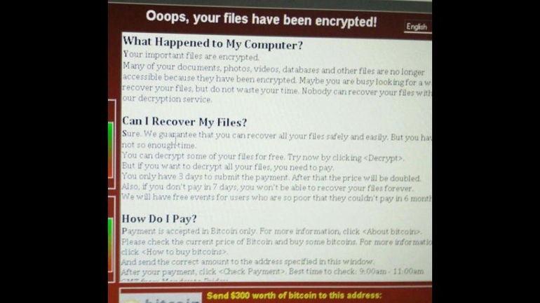 """Attacco hacker: virus """"Wannacry"""" sviluppato con codice NSA ha colpito in tutto il mondo"""