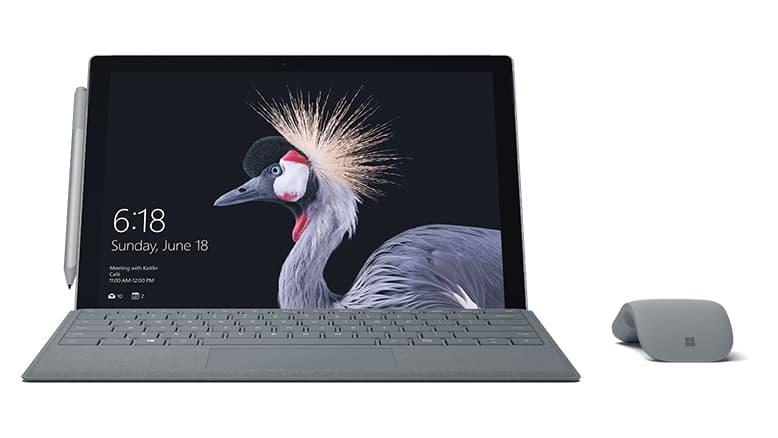 Future Decoded, Microsoft presenta Surface Pro LTE