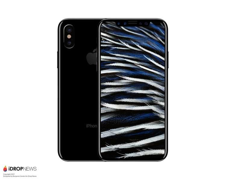 iPhone 8 vs Galaxy S8 vs iPhone 7: dimensioni a confronto nei primi Render