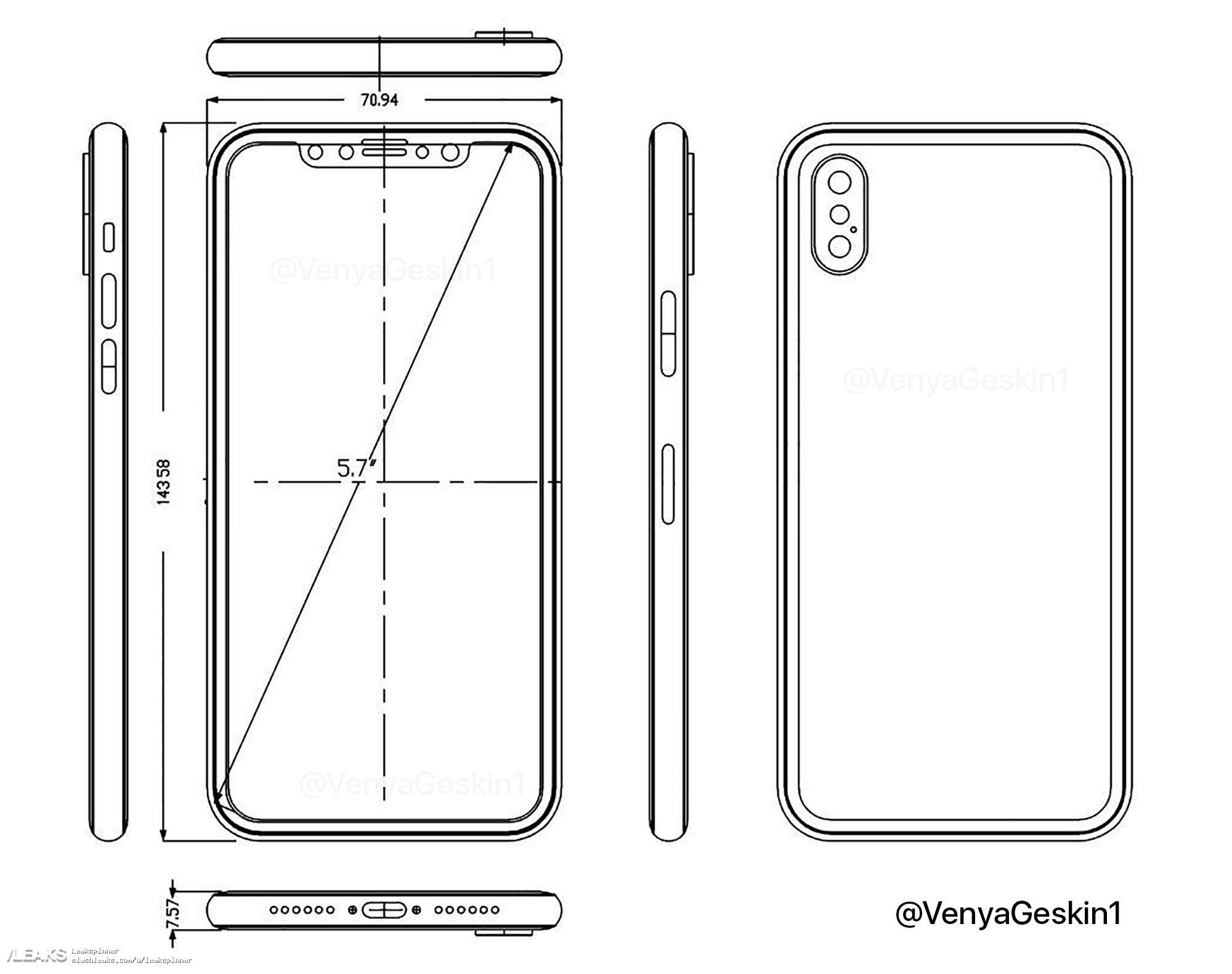 schema iPhone 8