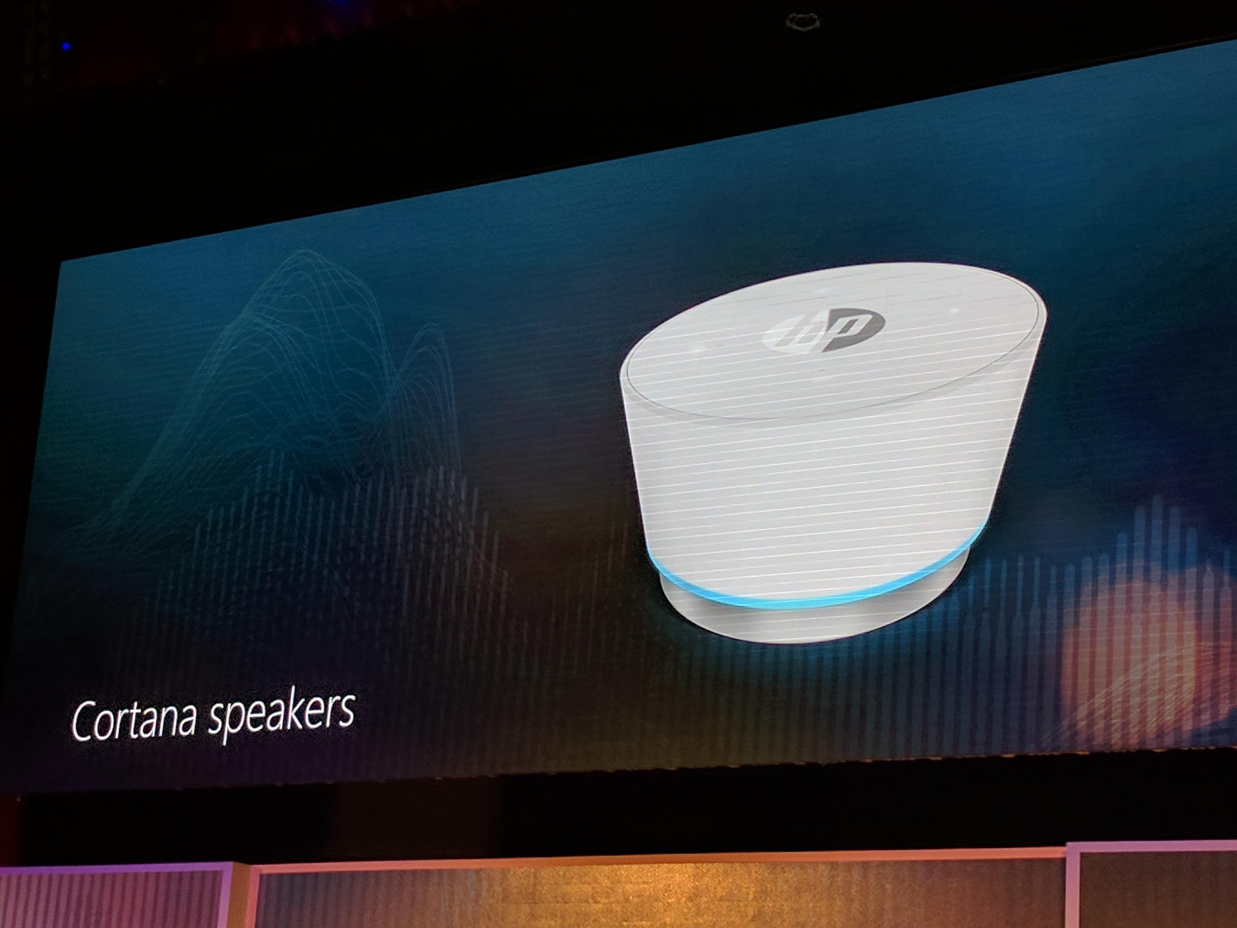 Prima immagine e dettagli dello speaker Cortana: anche Microsoft nel mercato delle case intelligenti
