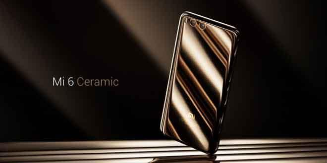 Lo splendido Xiaomi Mi 6 Ceramic Edition disponibile da oggi