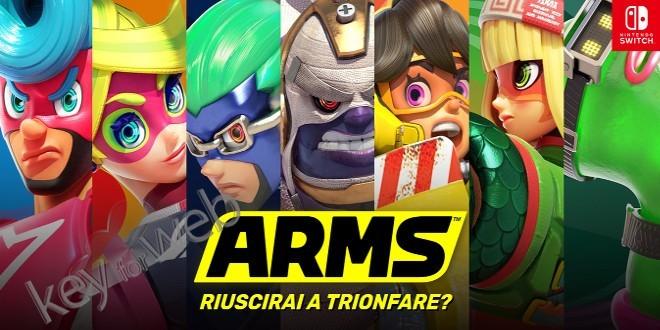 ARMS disponibile su Switch: trailer con le valutazioni della stampa e nuovo personaggio a luglio