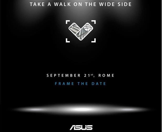 Nuovi smartphone Asus in arrivo a settembre: ci sarà anche ZenFone 4V