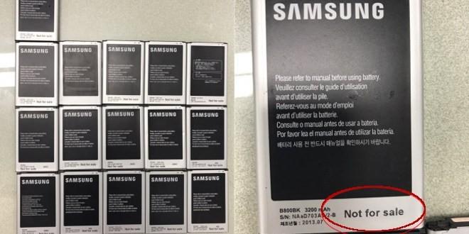 Dipendente Samsung ruba 8474 smartphone, arrestato