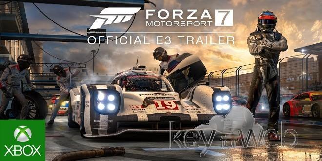 E3 2017 – Annunciato Forza Motorsport 7: supporto nativo a 4k e 60fps, video trailer ufficiale