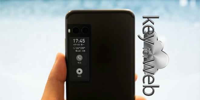 Meizu Pro 7 con E-Ink display posteriore si mostra in una prima immagine, data di uscita da confermare