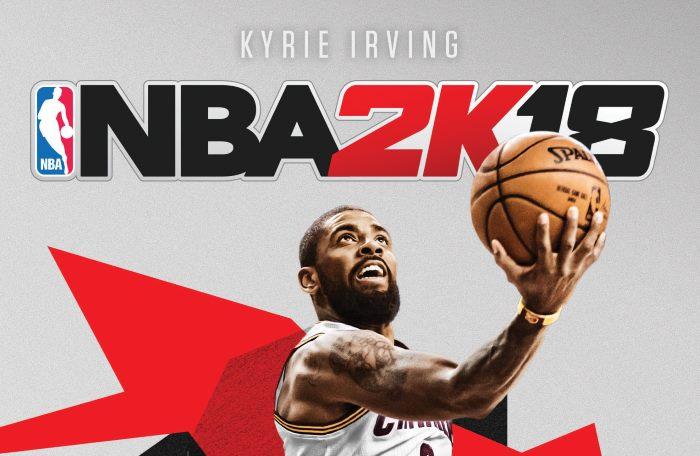 NBA 2K18: per la copertina scelto Kyrie Irving, playmaker e stella dei Cleveland Cavaliers