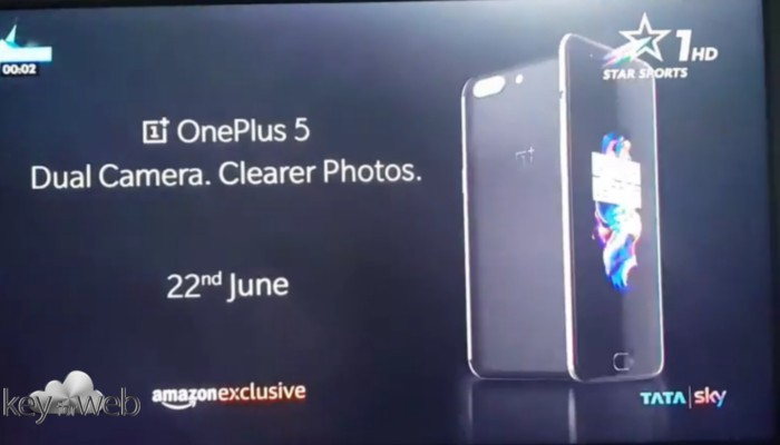 OnePlus 5, completo ed elegante come iPhone 7 Plus, video esclusiva Amazon