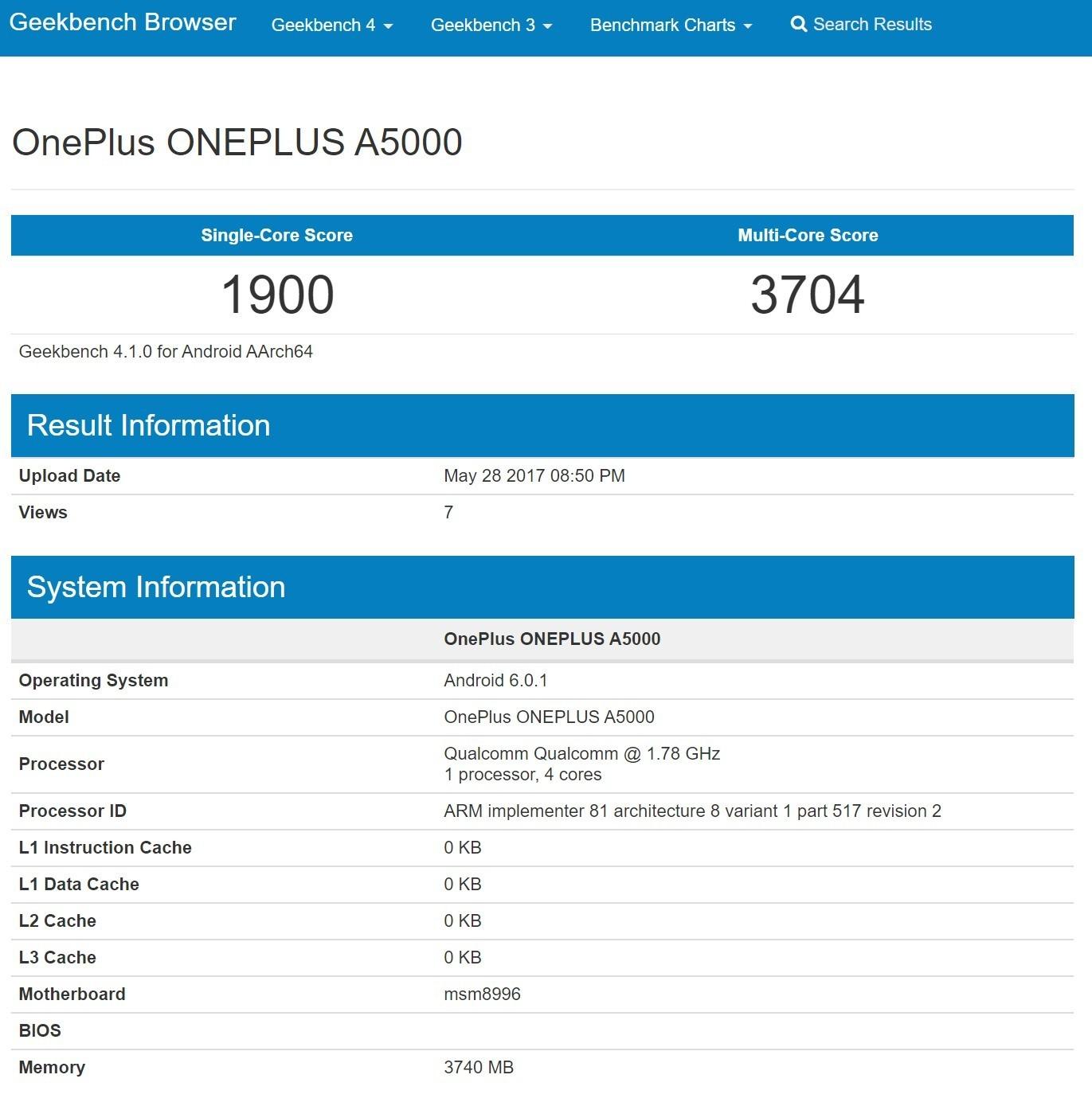 OnePlus 5 Lite