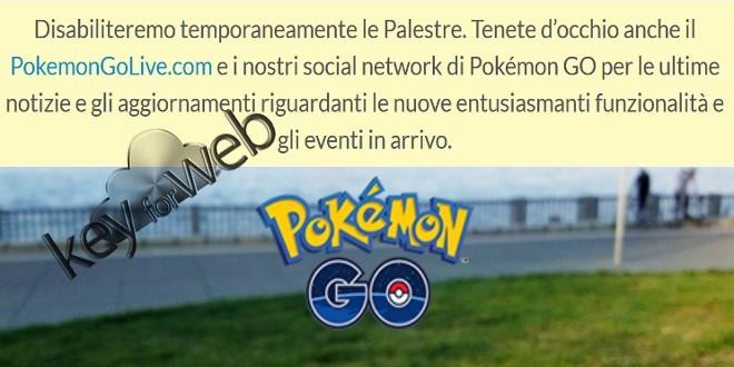 Pokémon GO, palestre chiuse per un importante aggiornamento: battaglie PvP in arrivo?