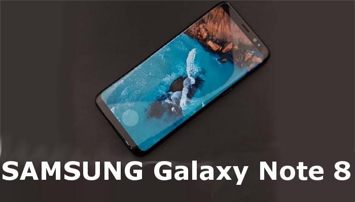 Il pannello anteriore di Samsung Galaxy Note 8 mostrato in nuove immagini reali