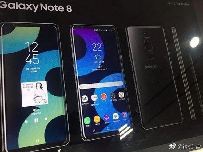 Nuova immagine pubblicitaria svela Galaxy Note 8 con doppia fotocamera e sensore di impronte posteriore