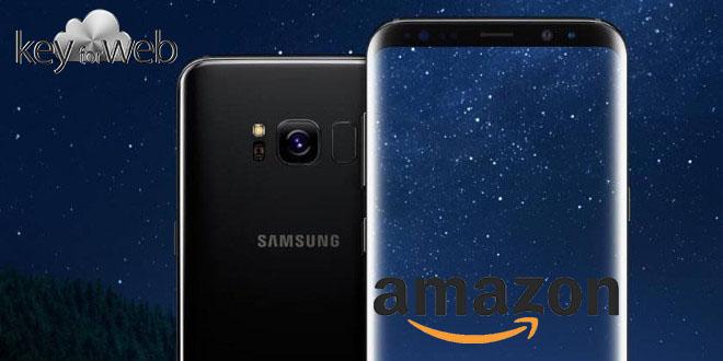Strepitosa offerta Galaxy S8 argento con miglior prezzo Amazon