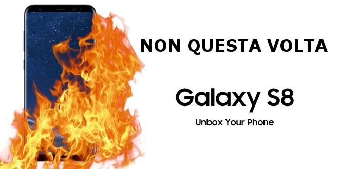 Samsung Galaxy S8, la batteria esplosiva non è più un problema, zero segnalazioni